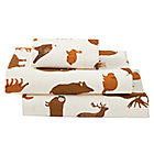 Toddler_Sheets_Flannel_Animal_Brown_Silo