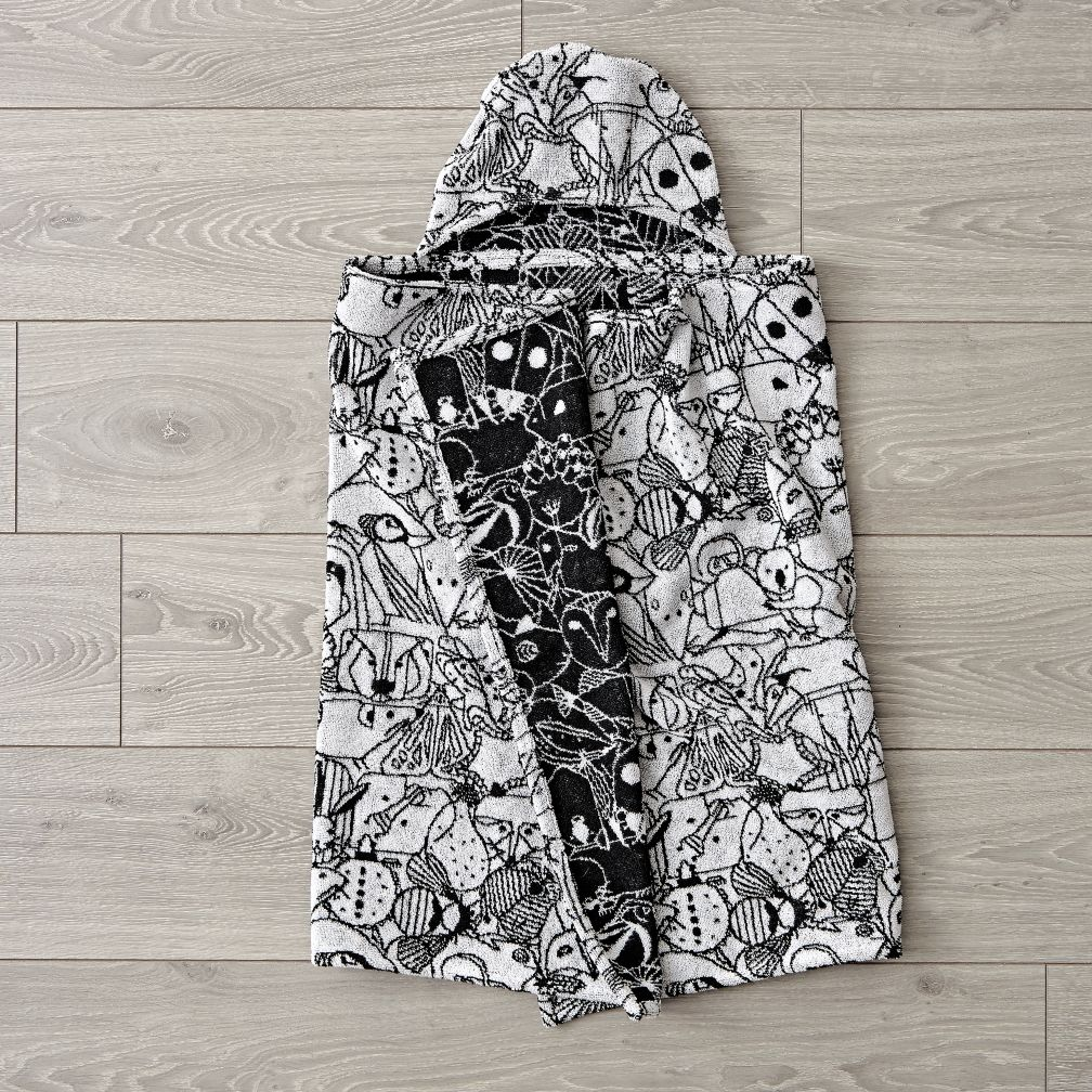 Charley Harper Animal Hooded Towel