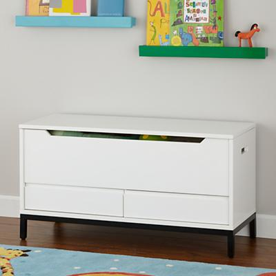 Hi-Fi Toy Box (White)