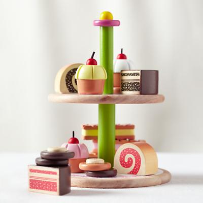 Two Tier Pastry Tray