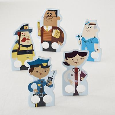 Hometown Hero Finger Puppets