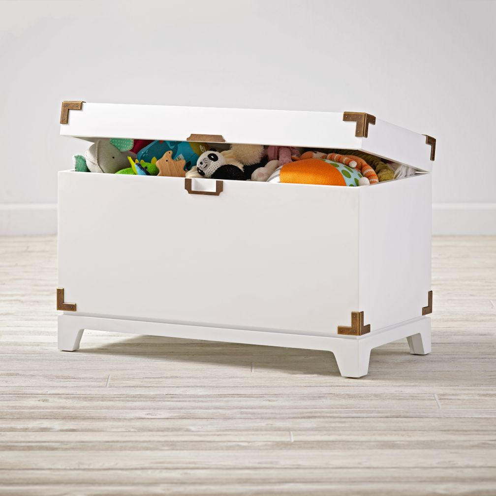 Campaign Toy Box (White)