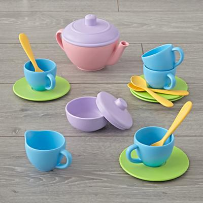 Toys_Imaginary_Green_Toy_Tea_Set