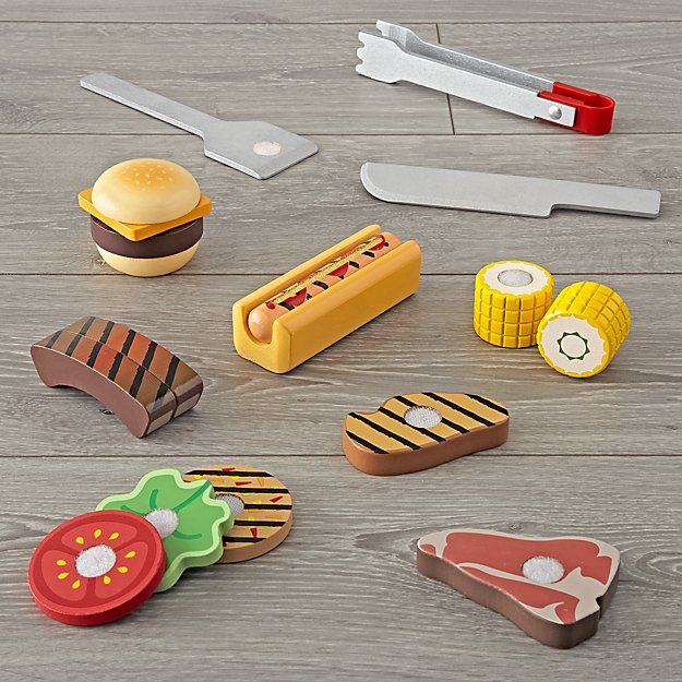 Melissa and Doug Grill and Serve Barbecue Set