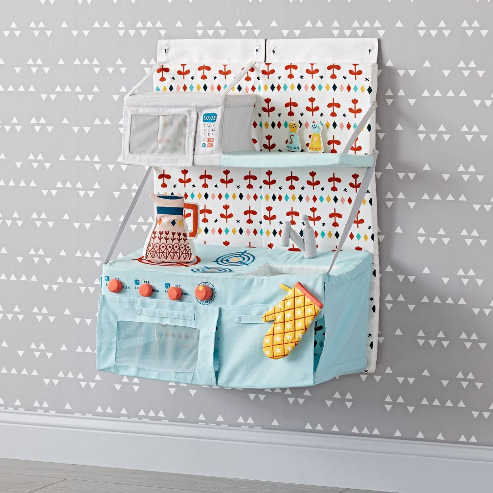 Hanging Retro Play Kitchen | The Land of Nod