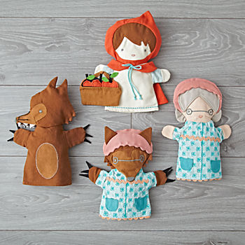 Little Red Riding Hood Puppets (Set of 4)