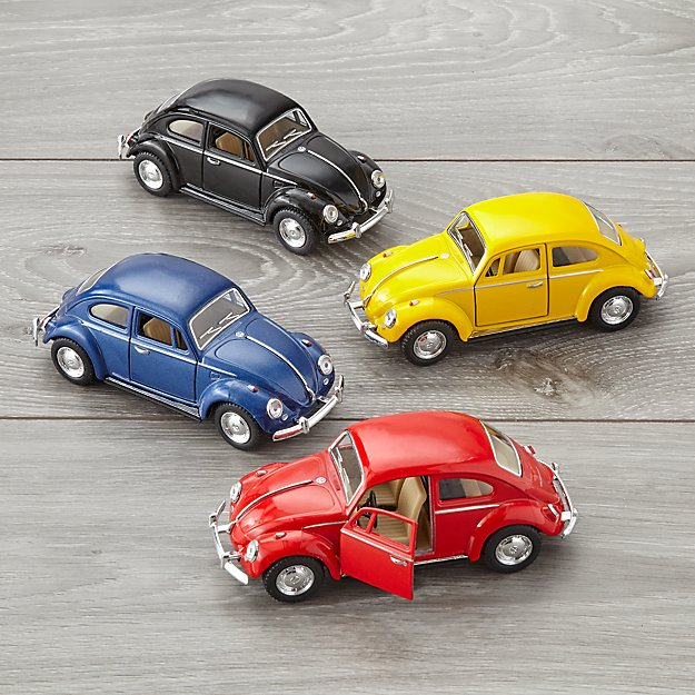 Assorted Pull and Go VW Beetles