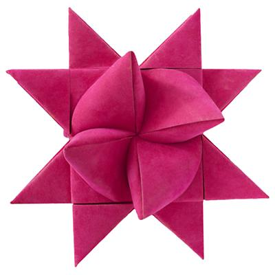 Pink Supernova Tree Topper