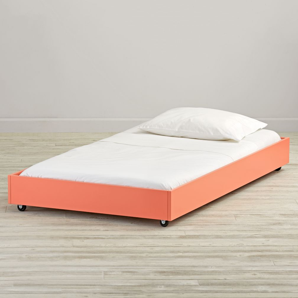 Jenny Lind Coral Trundle Bed