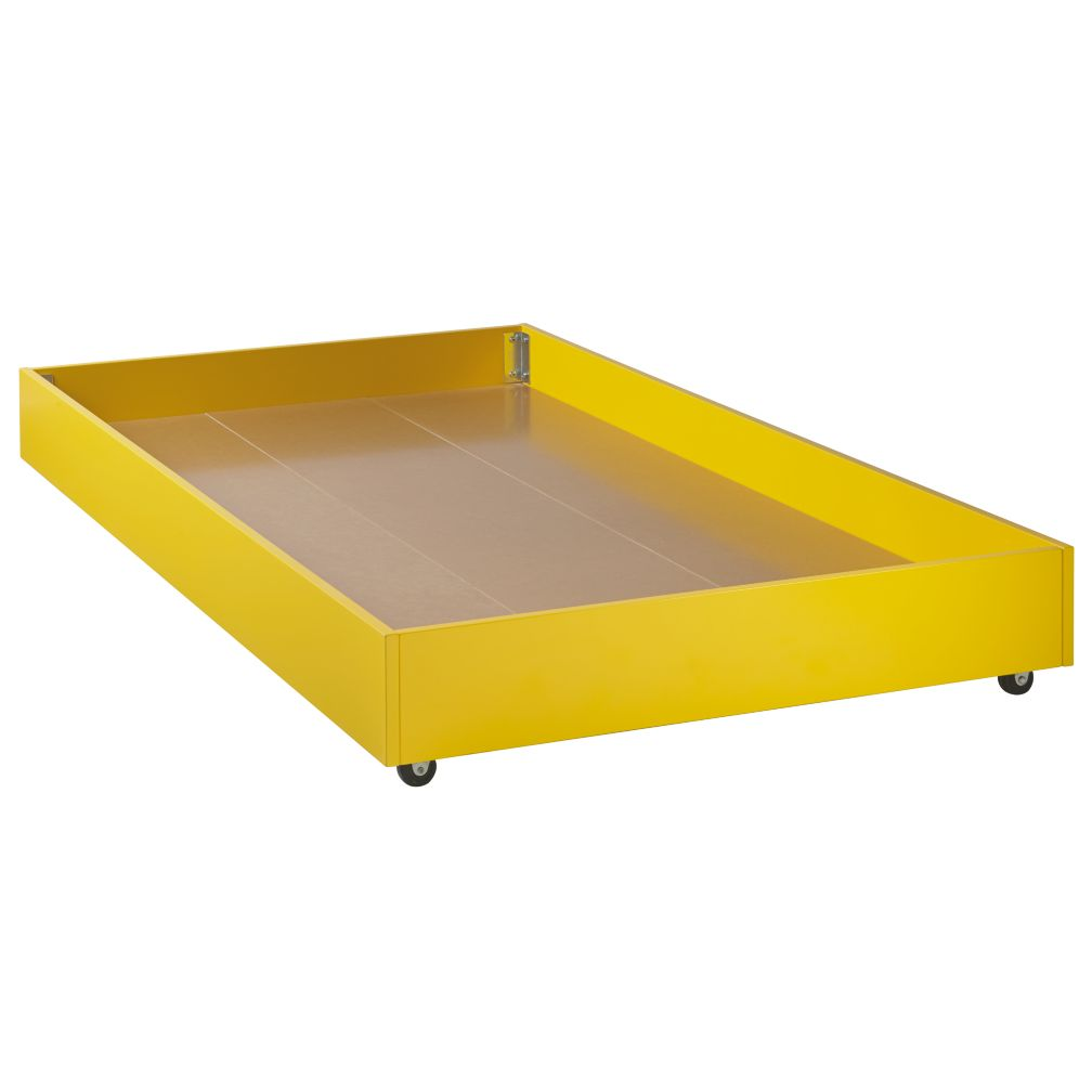 Jenny Lind Yellow Trundle Bed