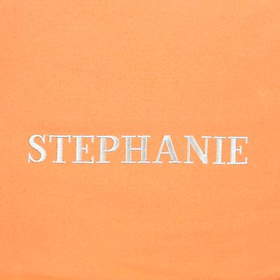 Orange Personalized One-Seater Cover Only