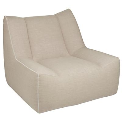 Open Arms Swivel Lounge (Linen)