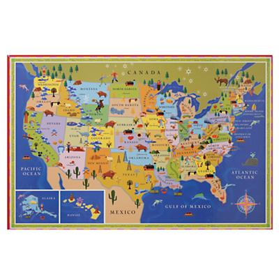 This Map is Your Map Unframed Wall Art