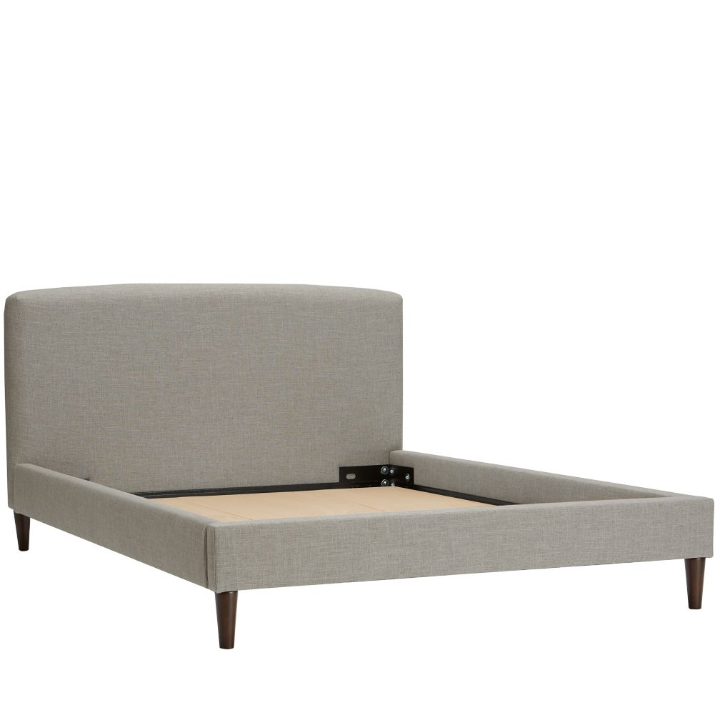 Full Upholstered Bed (Zuma Feather)