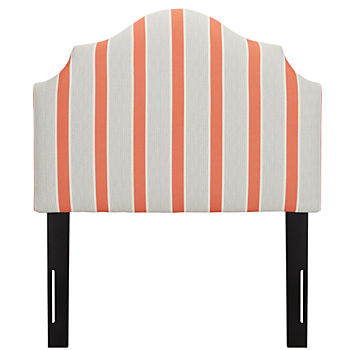 Twin Arched Headboard (Eze Coral)