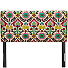 Santa Maria Desert Flower Full Upholstered Headboard
