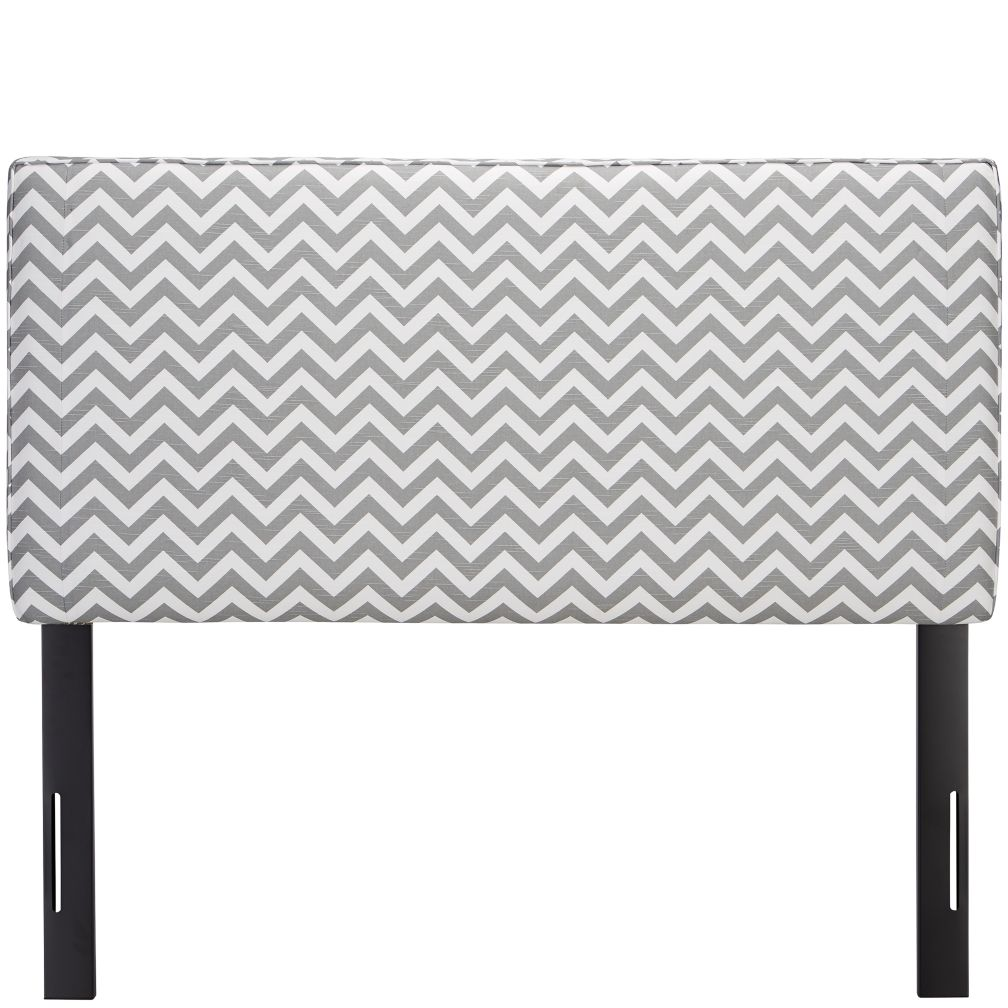Full Upholstered Headboard (Zig Zag Ash)