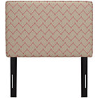 DuJour Rosario Twin Upholstered Headboard