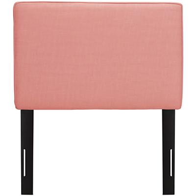 Twin Upholstered Headboard (Petal Linen)