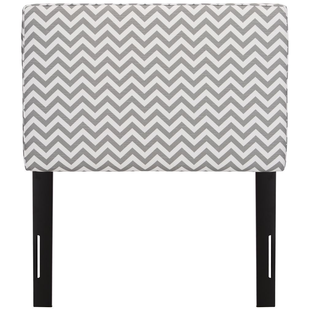 Twin Upholstered Headboard (Zig Zag Ash)
