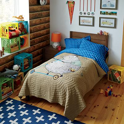 Uptown_Bed_Stained_Brown