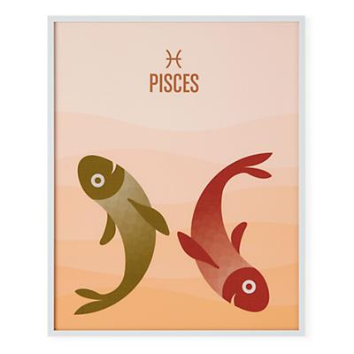 What's Your Sign Framed Wall Art (Pisces)