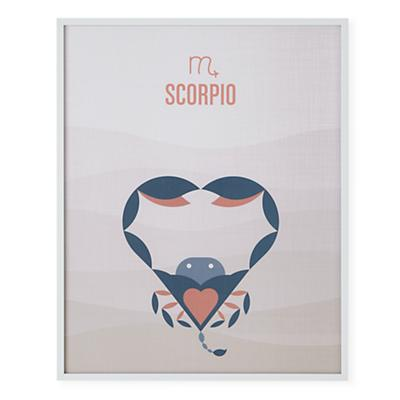 What's Your Sign Framed Wall Art (Scorpio)
