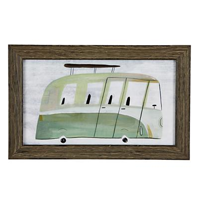 Bus Framed Wall Art