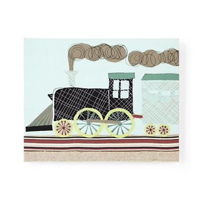 Transportation Sensation Wall Art (Train)