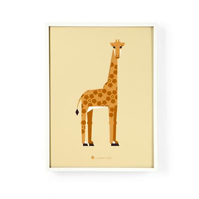 Modern Menagerie Wall Art (Giraffe)