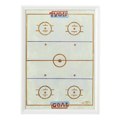 Power Play Framed Wall Art