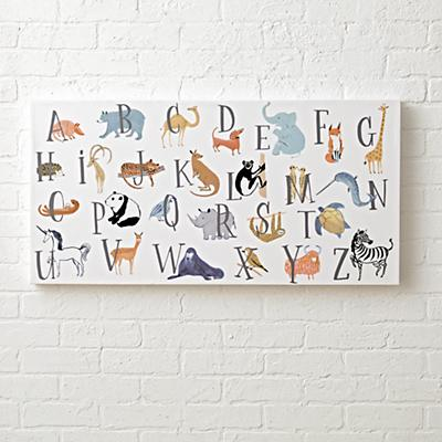 Wall_Art_Animal_Alphabet