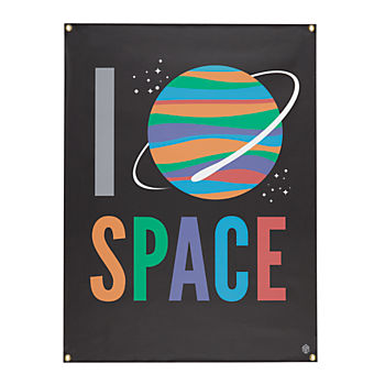 I Heart Space Banner