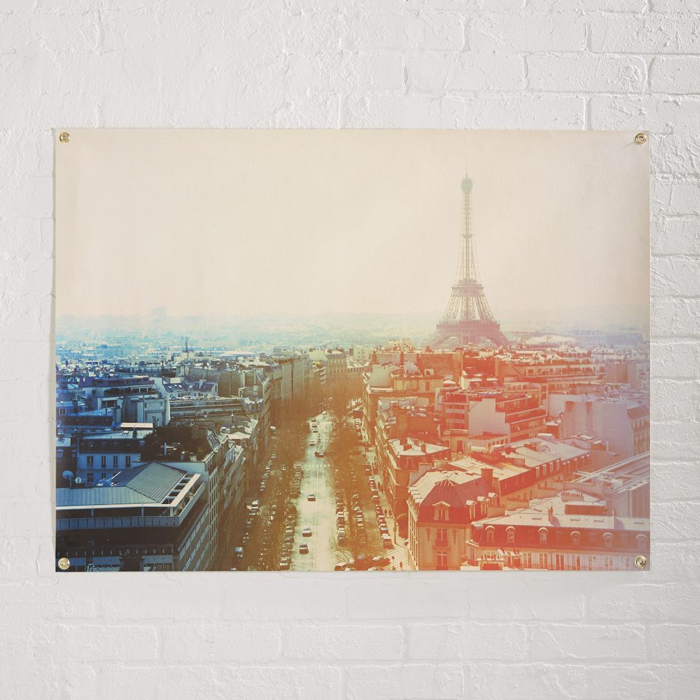 Paris Vacation Banner