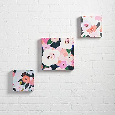 Bright Florals Wall Art (Set of 3)