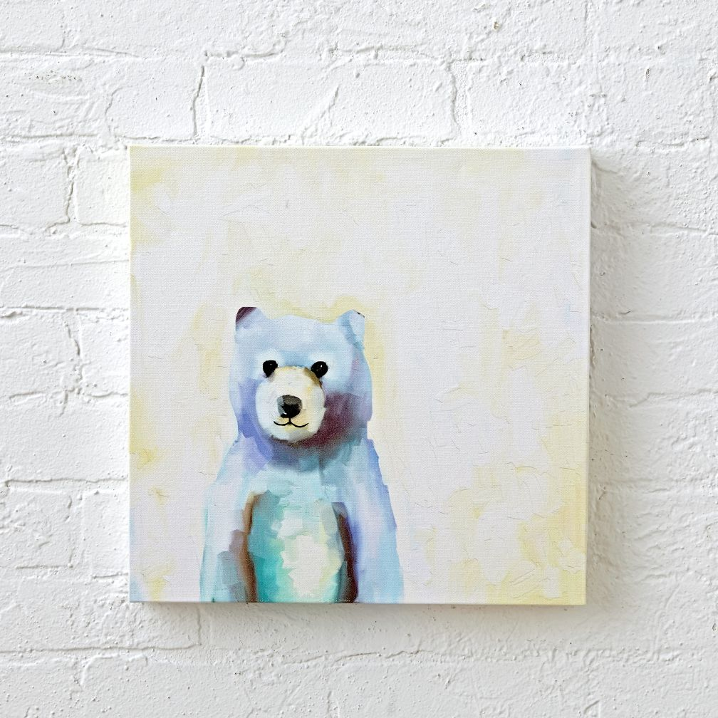 Rainbow Hued Bear Wall Art