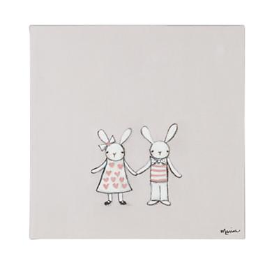 Bunny Love Wall Art