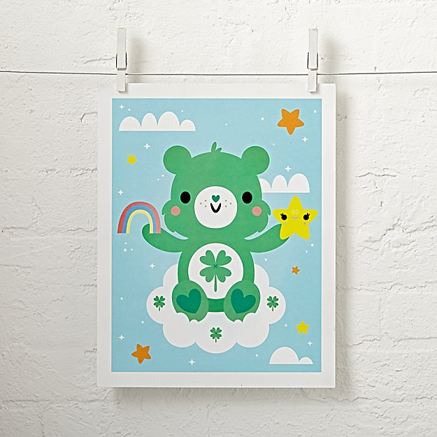 Care Bears Good Luck Bear Unframed Wall Art