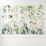 Birch Forest Mural Decal