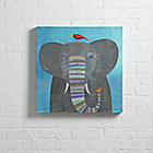 Wall_Art_Elephant_Colorful