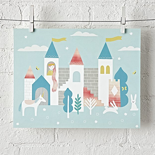 Fairytale Unframed Wall Art