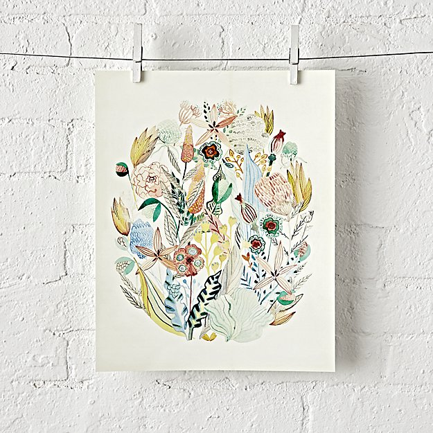 Floral Unframed Wall Art