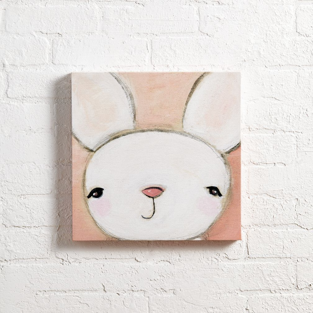 Bear Wall Art hello bunny wall art | the land of nod
