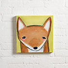 Hello Fox Wall Art.