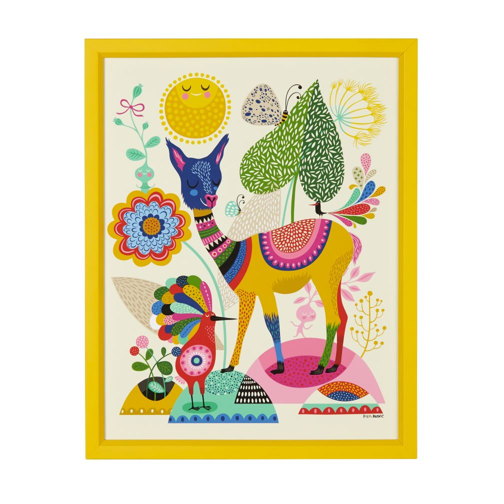 Llama Wall Art The Land Of Nod