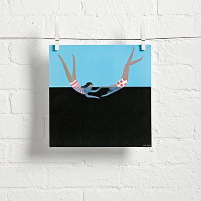 Swimming Together Wall Art