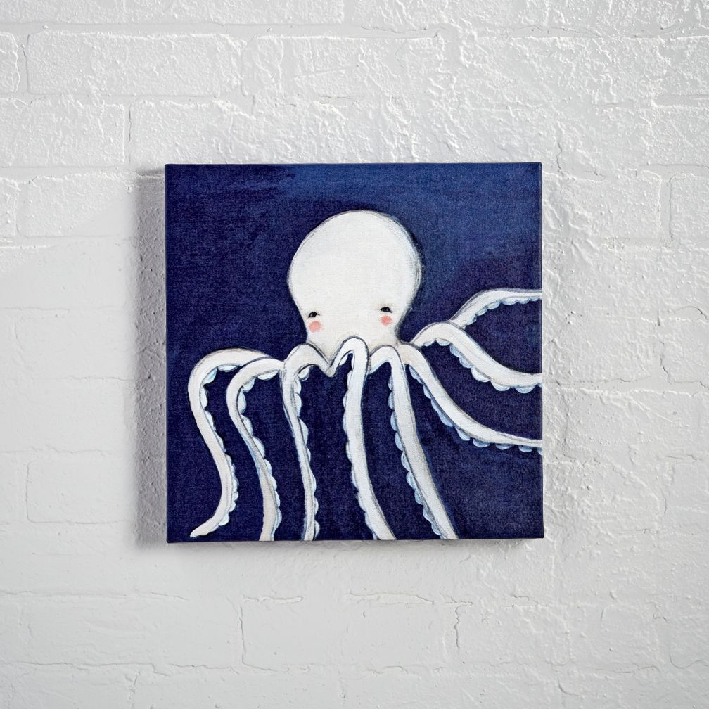 Octopus Ocean Animal Canvas Wall Art
