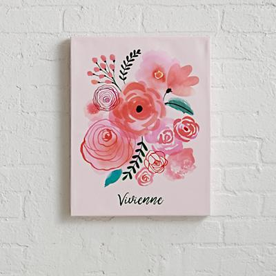 Florals Personalized Wall Art