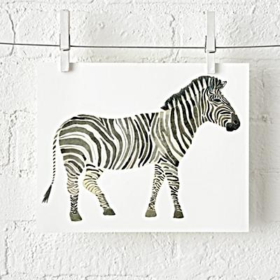 Wall_Art_Safari_Zebra