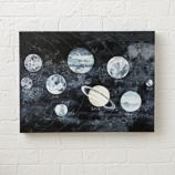 Watercolor Space Wall Art